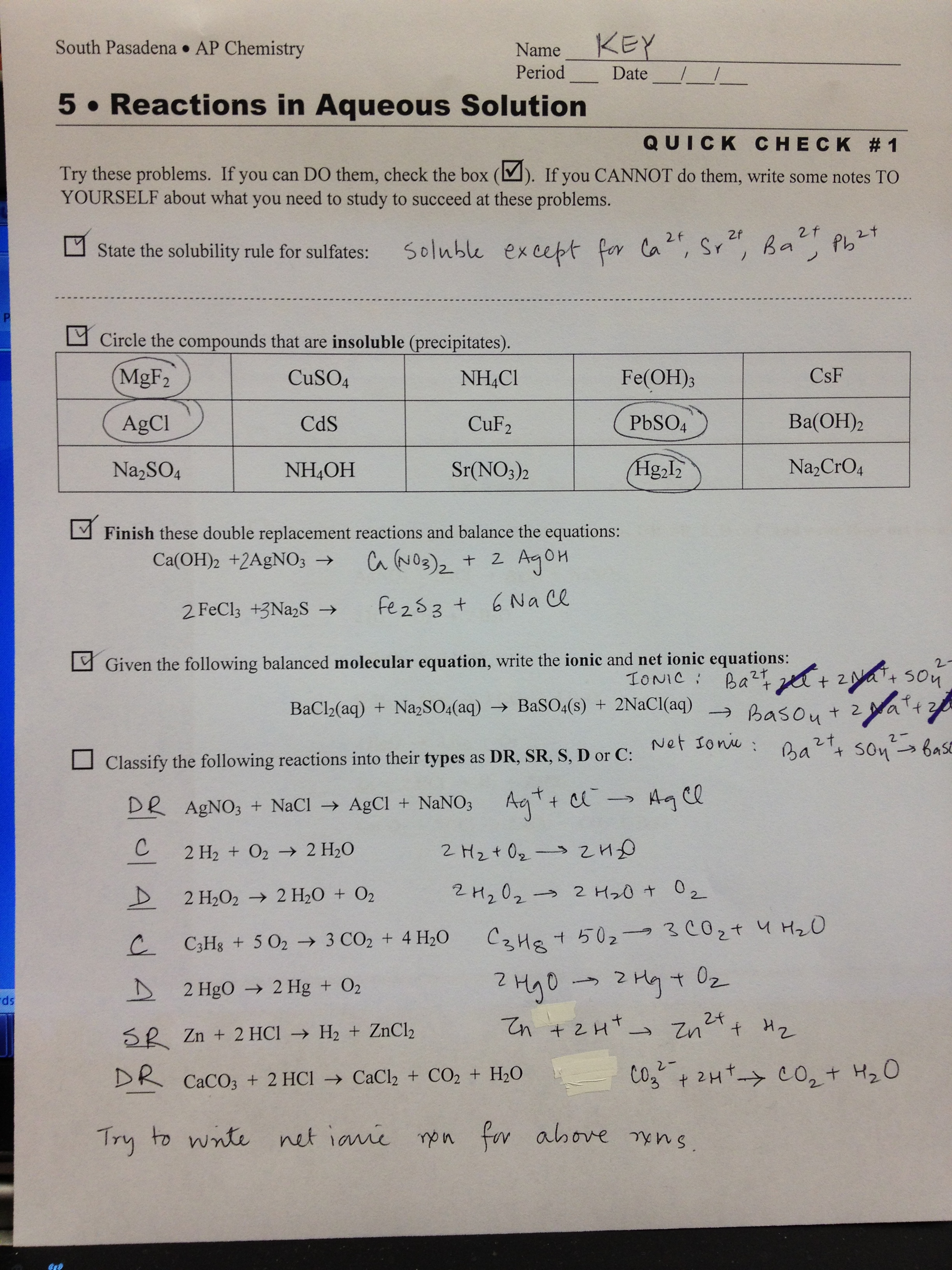 mole problems worksheet with answers